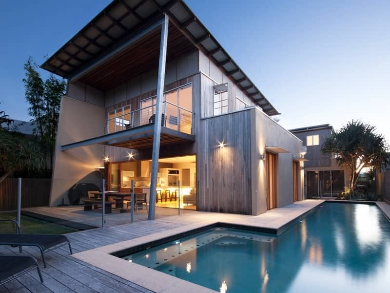 Boardrider Crescent project by mdesign, a building design practice that operates on the Sunshine Coast.
