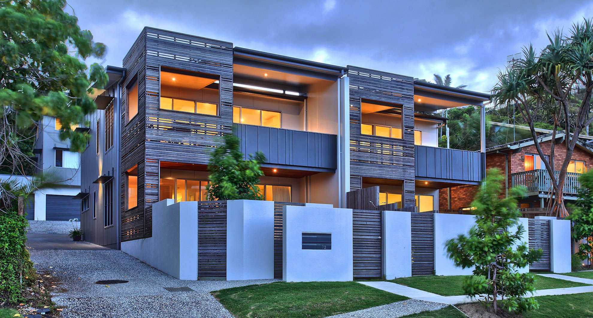 Coolum Terrace project by mdesign, a building design practice that operates on the Sunshine Coast.
