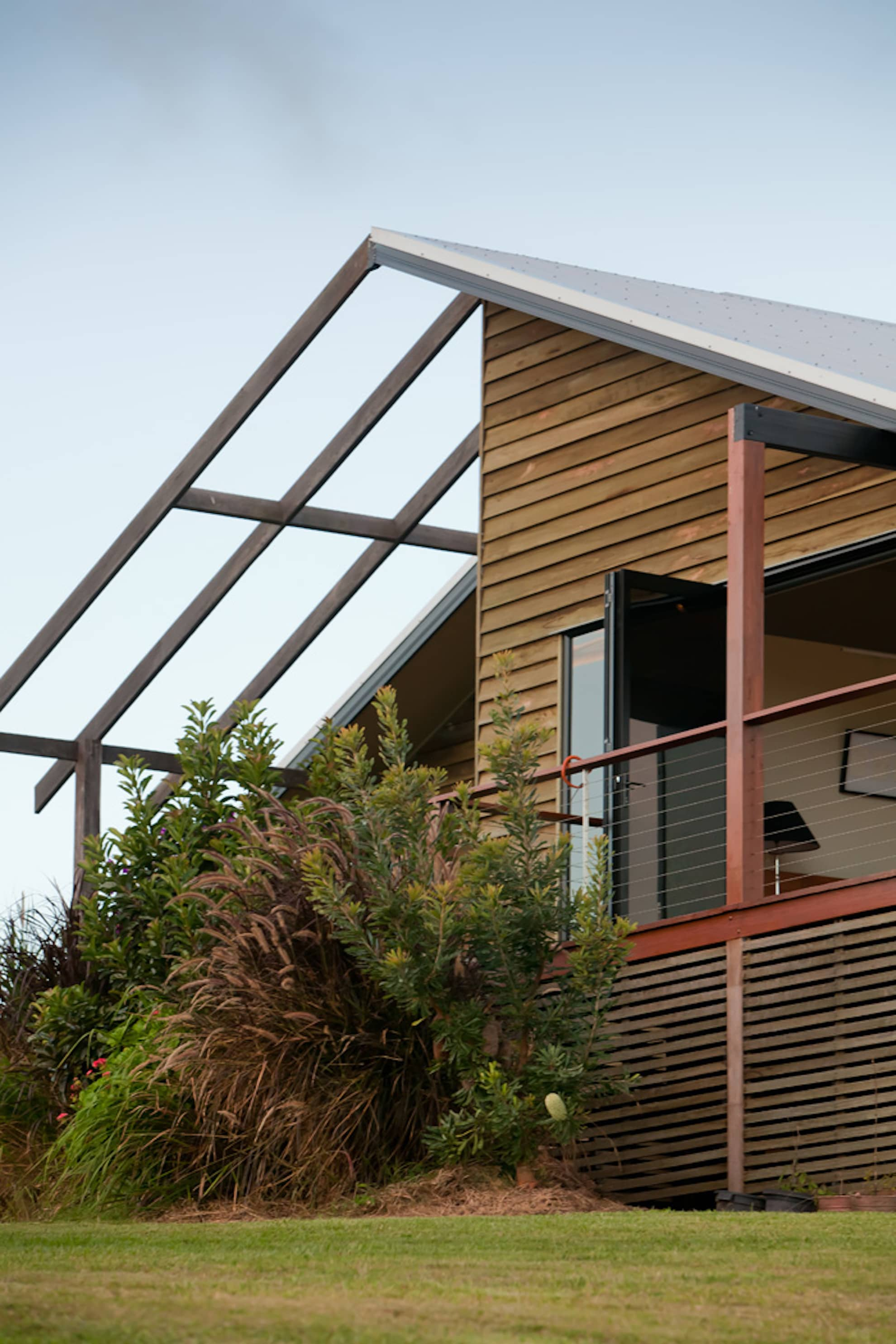 Kenilworth House project by mdesign, a building design practice that operates on the Sunshine Coast.